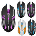 Profesional USB Con Cable 3200 DPI 6D Botones USB Wired Juego Optical Gaming Mouse Ratones para PC Portátil