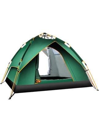 [TB07] tente extérieure extérieure 3-4 personnes entièrement automatique 1 simple 2 double couple maison camping camping épaissi anti-tempête