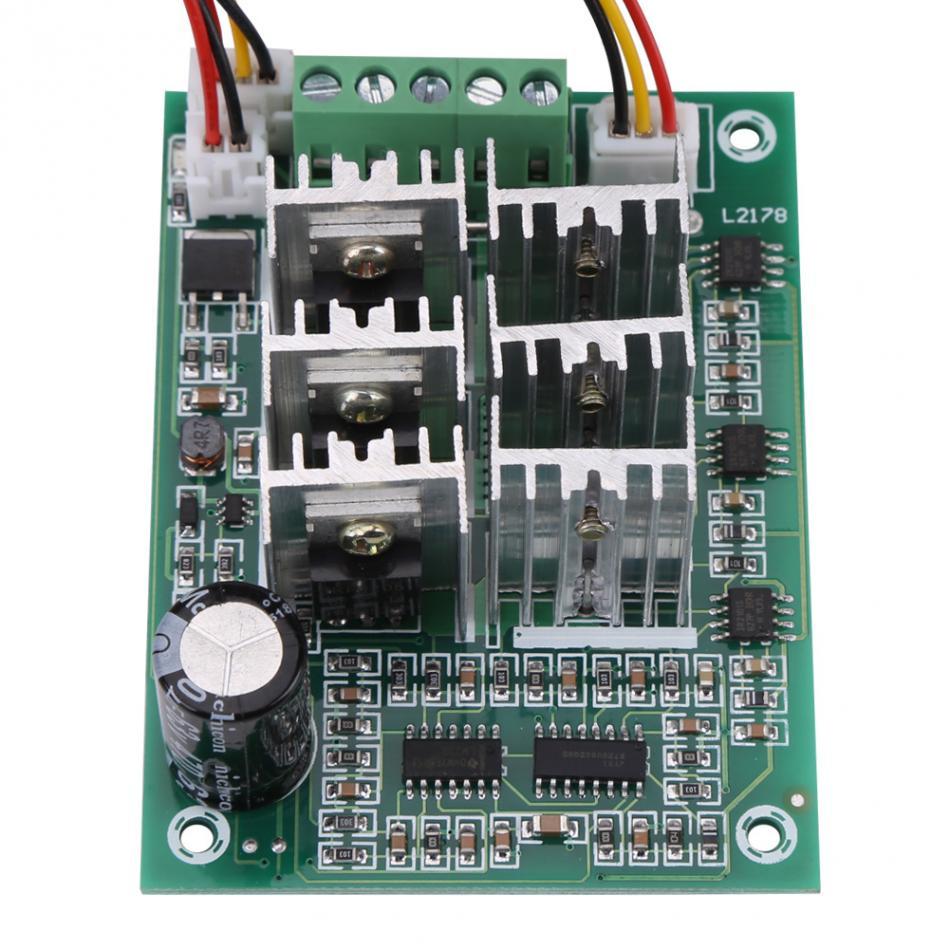 DC 5V-36V 12V 24V 15A Brushless Motor Speed Controller Driver Reversible Switch