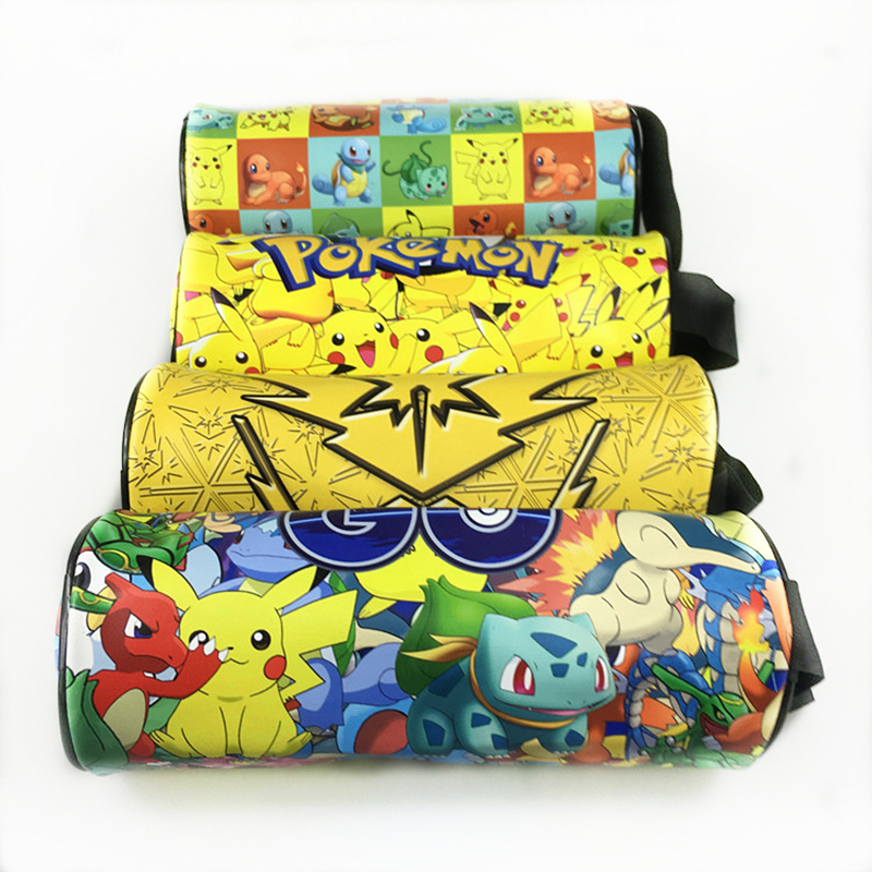 2016 Pokemon Cartoon Pencil Pen Case Pocket Monster Wallet Pet Elf Pikachu Cosmetic Coin Purse Storage Zipper Bag anime cartoon pocket monster pokemon wallet pikachu wallet leather student money bag card holder purse