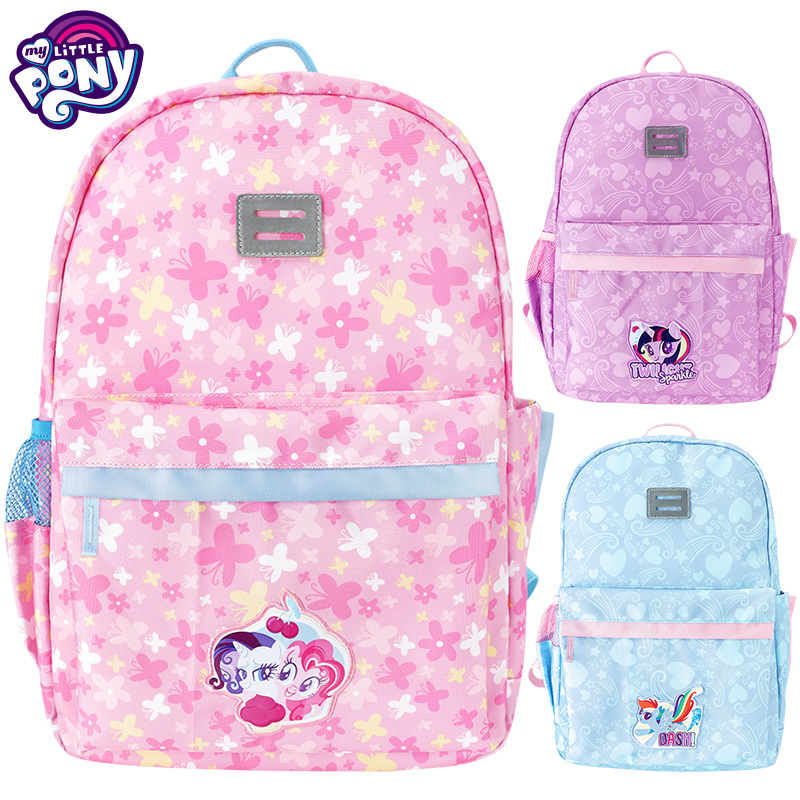 My Little Pony New 3 to 6 grade primary children school bag girl backpack Twilight Sparkle Pinkie Pie Rainbow Dash casual bags