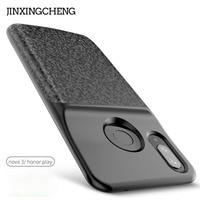 JINXINGCHENG Soft Frame Battery Case for Huawei Nova 3i 5200mah Back Clip Fast 18650 Battery Charger for Huawei Honor Play