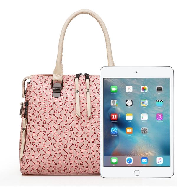 Fashion Women Handbags Soft Leather Ladies hand bag Large Capacity Crossbody Bags for Women Famous Brand 4 Pcs/Set Totes Bolsa