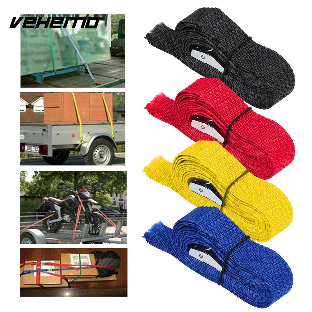 2.5M Car Auto Luggage Trailer Fixed Strap Rope Quick Release Cam Buckle Tie Down цена