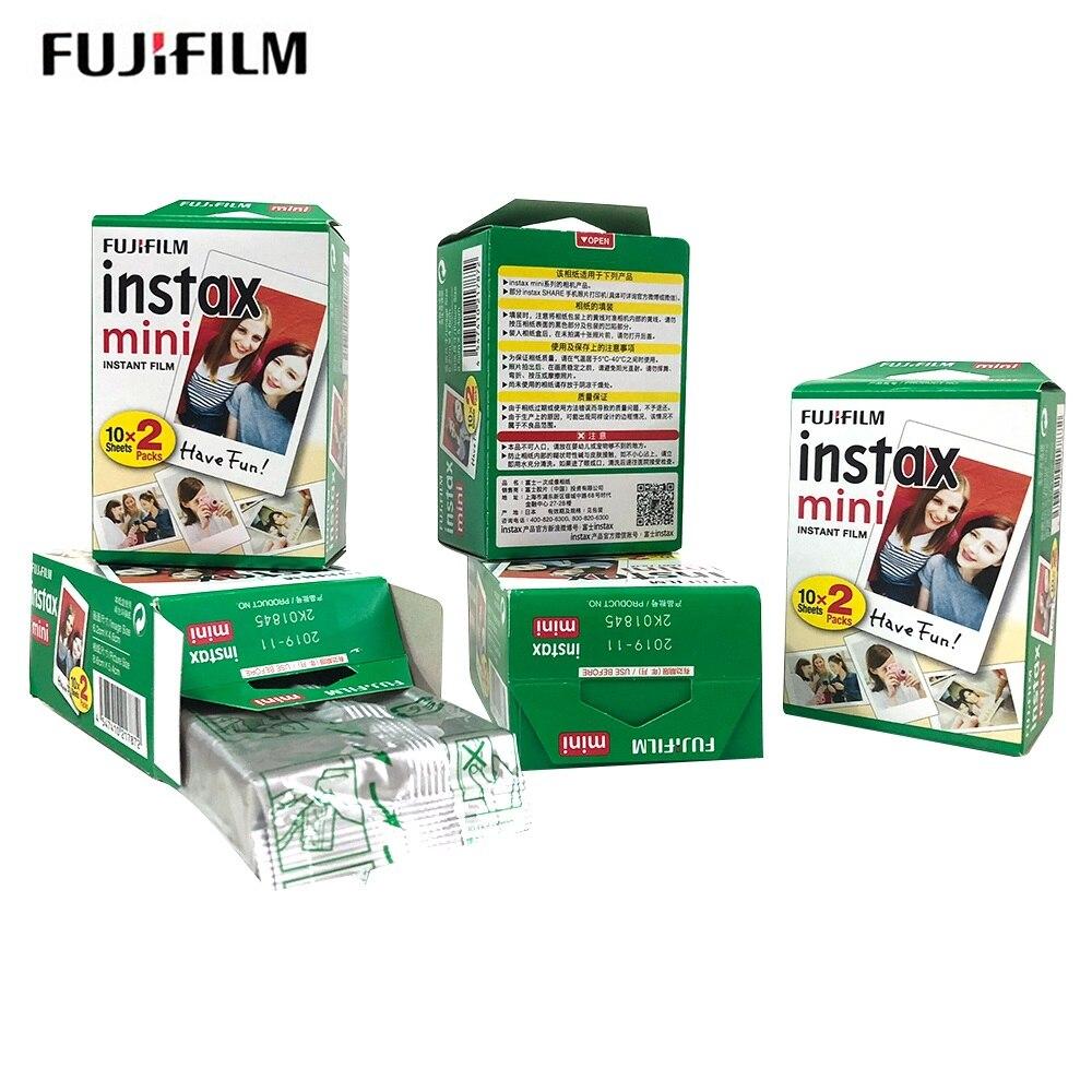 Fujifilm instax mini8 FILM 100 sheet Fuji instsnt photo Stickers for mini8 mini9 7s 25 50s 90 Instant Camera Paper-in Film from Consumer Electronics    2