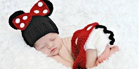 ⑧Мультфильм Минни новорожденных Hat, ребенок Минни Hat ...