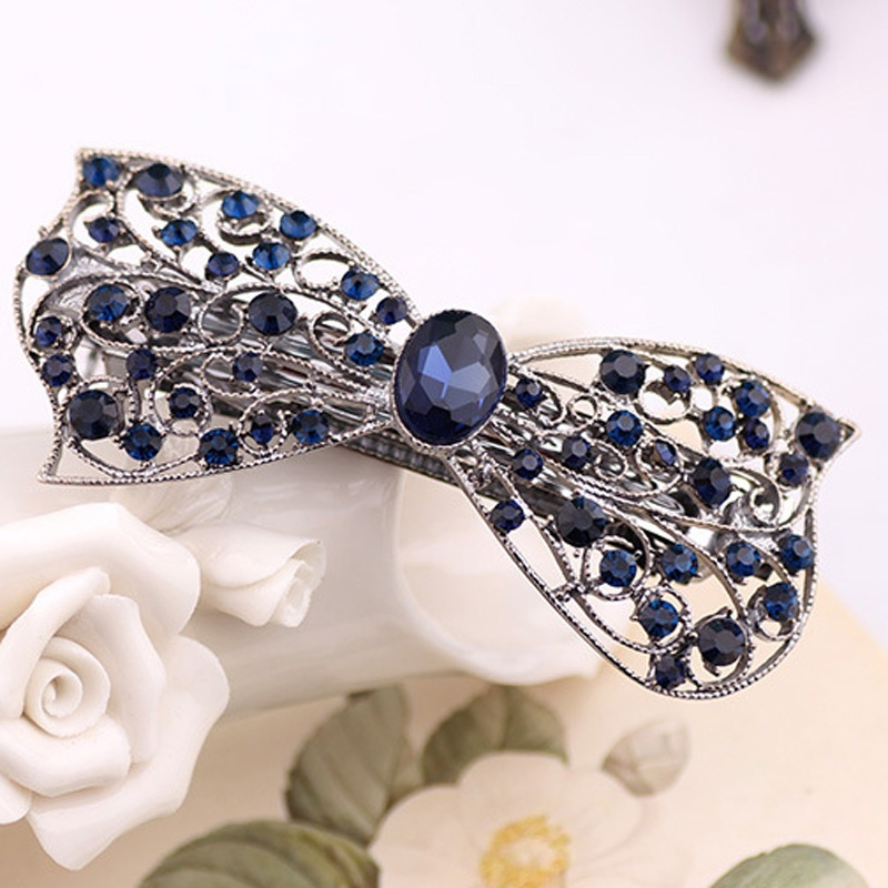 Back To Search Resultsapparel Accessories Spirited 1 Pcs Fashion Style Bow Hair Clip For Women Luxurious Girls Hair Accessories Trendy Hairpins Jewelry Complementos Para El Pelo Be Shrewd In Money Matters