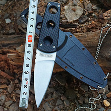 GP Cold Steel 11SDT SECRET EDGE Tactical Knife High Performance Straight Knife EDC Gift Knives Hunting Tools Fixed Blade Knife