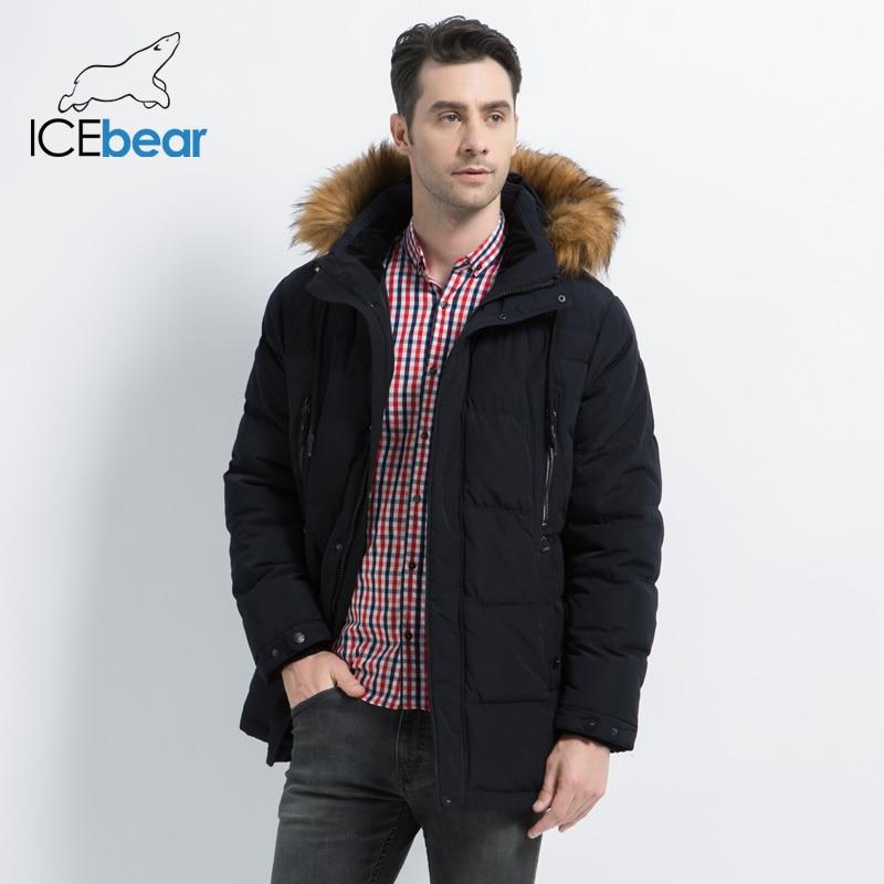 2019 جديد ملابس للرجال الأزياء الذكور سترة مقنعين الرجال معطف سميك الدافئة رجل الملابس عالية الجودة الرجال الشتاء ستر MWD19903D-في سترات فرائية مقلنسة من ملابس الرجال على  مجموعة 3