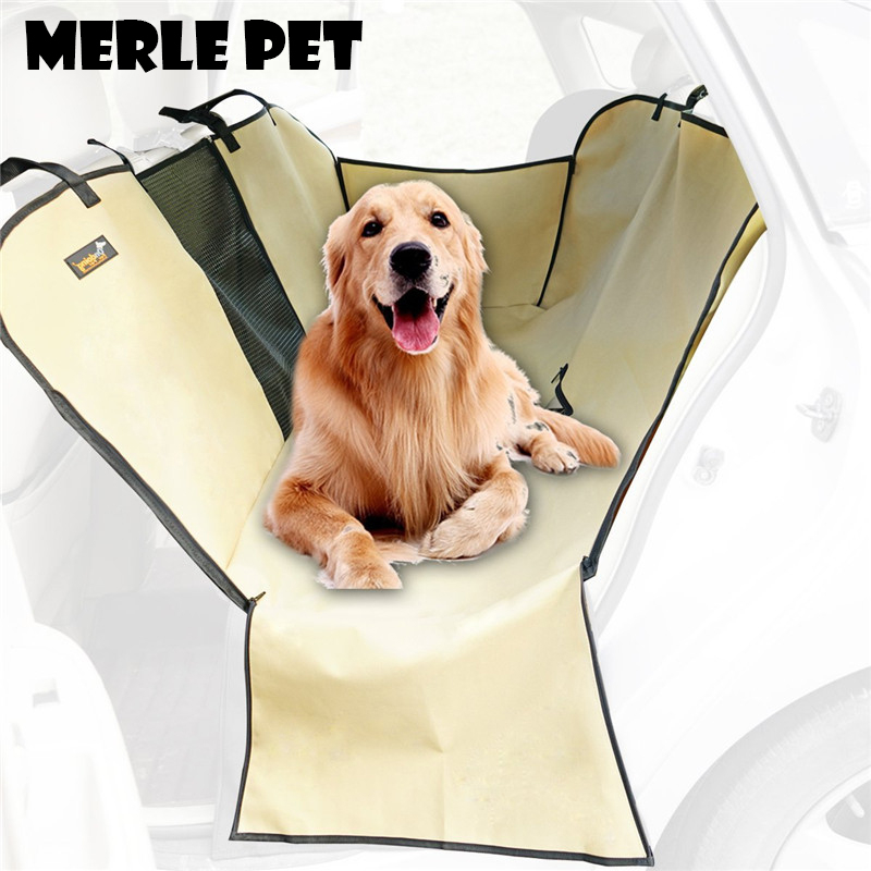 Merle Pet Anti Slip Seat Cover Dog Hammock Back Seat Protector For Cars Suv Trucks