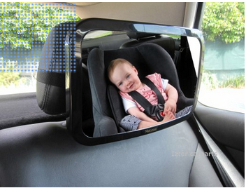 Rear View Baby Seat Mirror For Facing Fully Adjustable With Tilt And Turn
