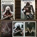 54 pçs/set Assassins Creed Assassins Creed Figuras Coleção Cartões De Poker Jogando Cartas Embalagem Da Caixa de Cor Presente Do Miúdo Brinquedo