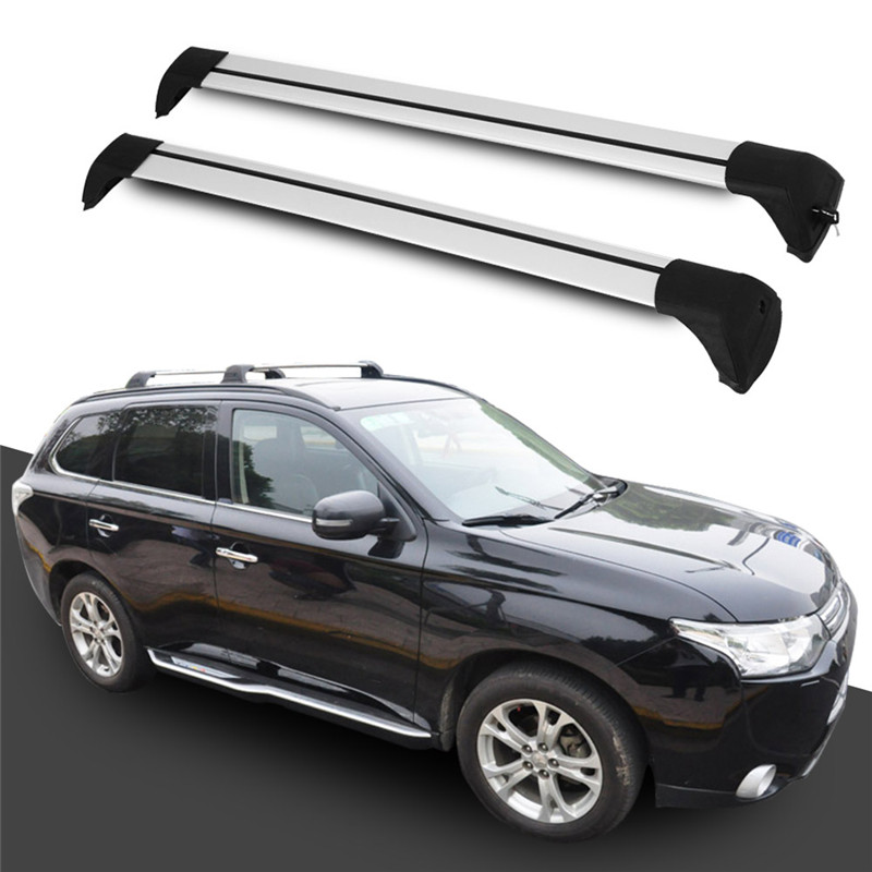 new arrival fit for mitsubishi outlander 2013 2014 2015 2016 2017 2018 baggage luggage roof rack rail cross bar crossbar