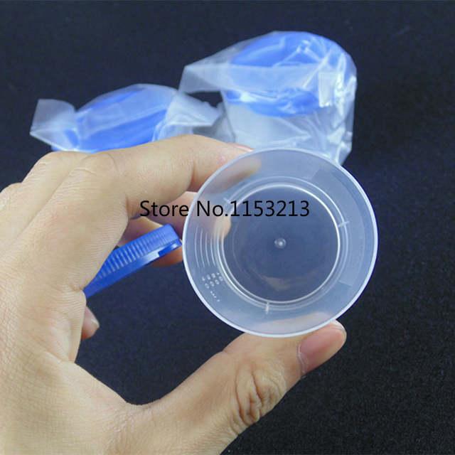 Online Shop 50pcs/bag 40ml Plastic vials Hand press cover Plastic