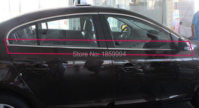 Fenêtre bande de décoration garniture autocollant couverture pour 2011-2015 Renault Fluence