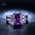 925 sterling sliver Purple Amethyst  CZ Diamond jewelry rings for women luxury wedding Engagement  jewelry trendy bijoux  DD202