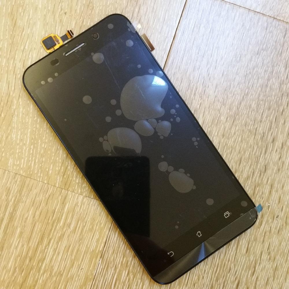 Prix pour 100% Testé Origine Double SIM 4G LTE TFT 1280x720 Affichage pour ASUS Zenfone Max LCD Écran Tactile Digitizer ZC550KL avec cadre