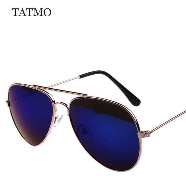 0915ac66f Fashion Children Sunglasses Boys Girls Kids Baby Pilot Sun Glasses Goggles  UV400 Mirror Sunglass 3025 Child vintage Gafas oculos-in Sunglasses from  Mother ...