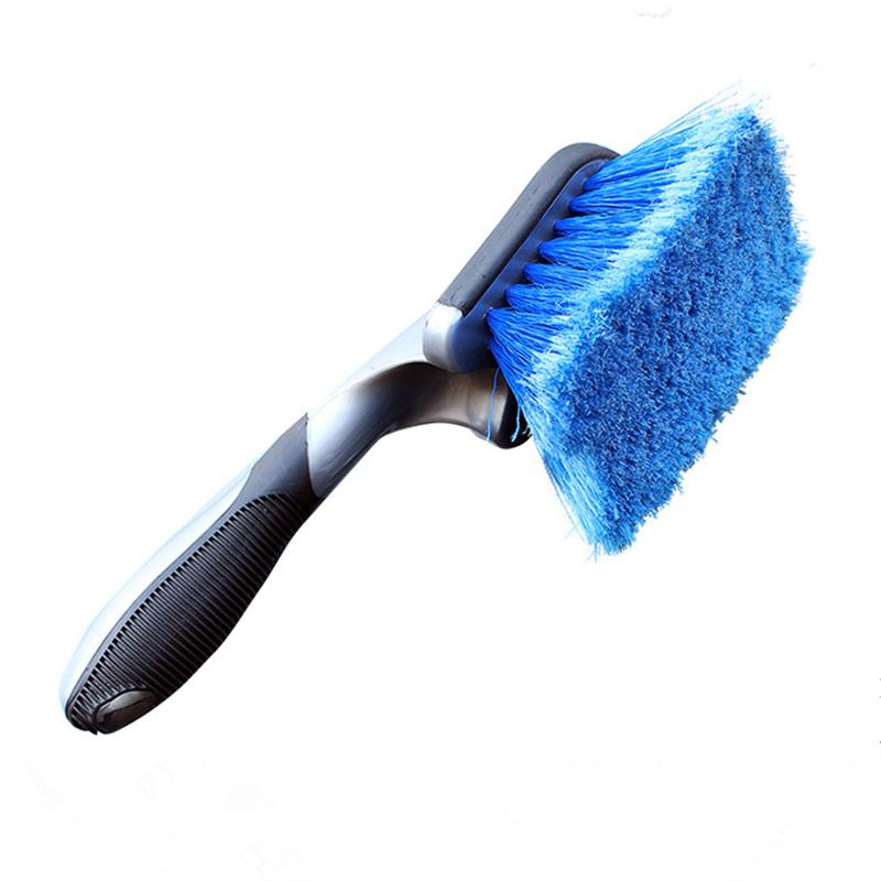 Long Handled Tyre Rim Cleaning Brush for Car Auto Wheel Clean