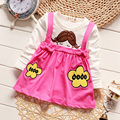 New Baby Girls T-Shirt Printed Cute Pattern Kids Tops Children Long Sleeve Tees New Fall Clothing Style T-Shirt for Baby1-3years