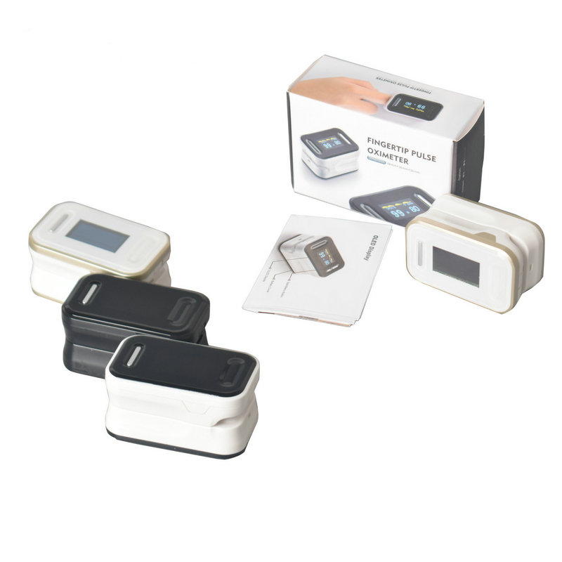STRIKATE Finger Pulse Oximeter Blood oxygen Medical blood meter rate monitor Home Fingertip SPO2