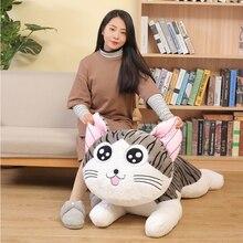 6 стилей котенок кошка плюшевые игрушки Чи Кот Мягкая Плюшевая Кукла животные куклы сырный Кот Мягкие игрушки куклы подушка для детей