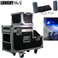 Free Shipping DMX Remote 2000W Stage Low Lying Fog Machine Water base Smoke Machine AC220,110V