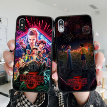 лучшая цена Stranger things season 3 Soft silicone TPU cover phone case for Apple MAX XS XR X10 7 8Plus SE 5 5S 6 6S 6 plus phone back cover