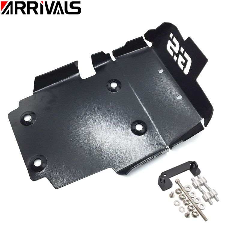 New Black Front CNC Engine Guard Protector Bash Skid For BMW F650GS F700GS F800GS