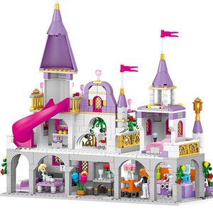 Image 5 - New  Friends  Windsors Castle And Carriage DIY Model Building Blocks Kit Toys Girl Birthday  Christmas Gifts