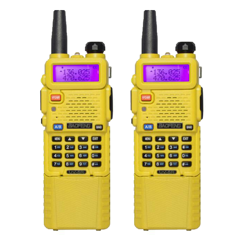 BaoFeng UV-5R  2 way Radio Transceiver Walkie Talkie With 3800mah Battery