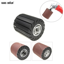 90*100Mm Rubber Expander Centrifugaal Wiel/Schuren Mouwen/Adapter Voor Haakse Slijper Metalen Polijsten Set