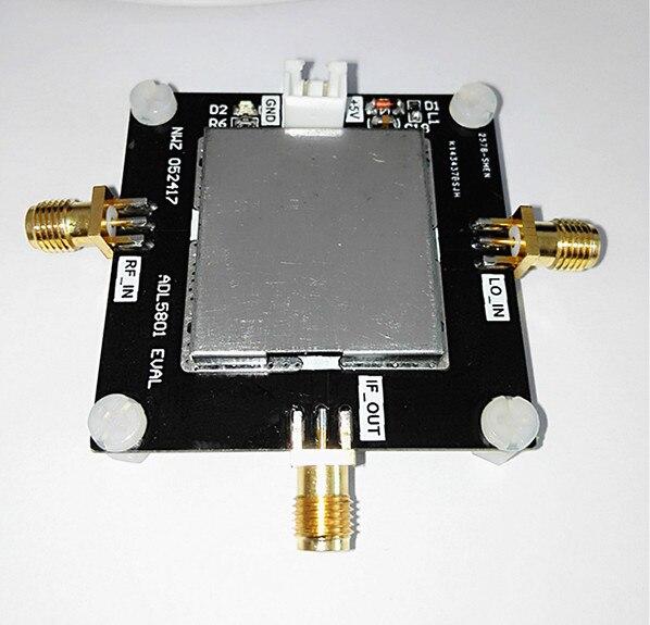 ADL5801 module frequency converter 10M 6G double balanced mixer down conversion balun coupling for game
