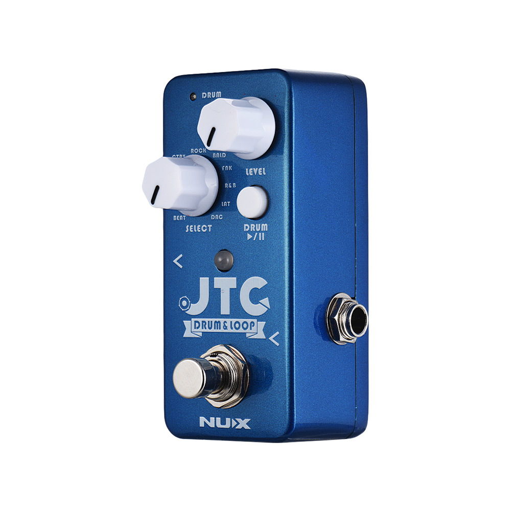 Nux Ndl-2 Jtc Drum & Loop Guitar Effect Pedal Looper 6 Minutes Recording Time 10 Drum Rhythms Smart Tap Tempo Guitar Accessories Relieving Rheumatism And Cold Guitar Parts & Accessories