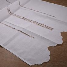 CL002: cortina de trabajo clásica hecha a mano/hecha a mano con hilo dibujado