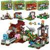 390pcs Model Building Kits Brinquedos Set Figures Toys Minecraft Sword Espada Compatible With Legoings For Boys