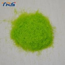 100G lightgreen Outdoor landscape construction sand table model material lawn turf grass powder viscose