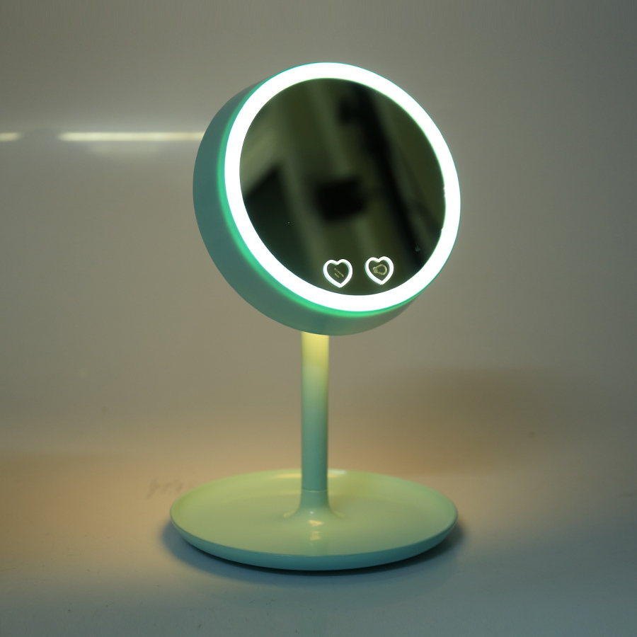 en led espejo de maquillaje vanidad con luces led usb cargable lmparas
