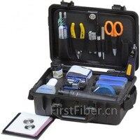 FirstFiber Fiber Optic Test & Restoration Kit, kit fibra optica Optical Fiber Light Source Fiber Power Meter LC Polishing Disc