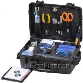 Kit de Test et de restauration de Fiber optique FirstFiber, kit fibra optica fibre optique Source de lumière compteur de puissance LC disque de polissage