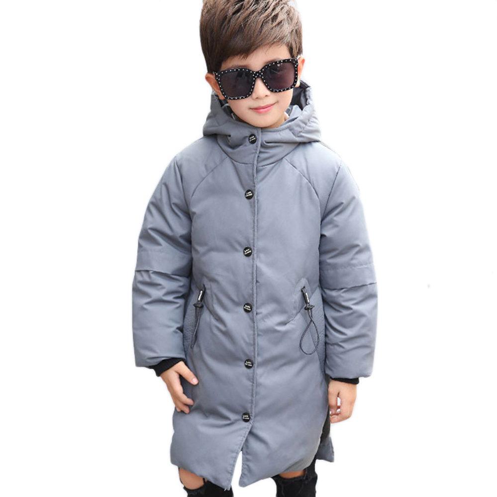 Boys Down Jacket Hooded Clothing -30 Degree Jacket Winter Kids Thick Outerwear Warm Coat Parka for Children 6 8 12 10 Years Old 5 14y high quality boys thick down jacket 2016 new winter children long sections warm coat clothing boys hooded down outerwear