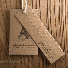 Custom Kraft Paper Card Tag