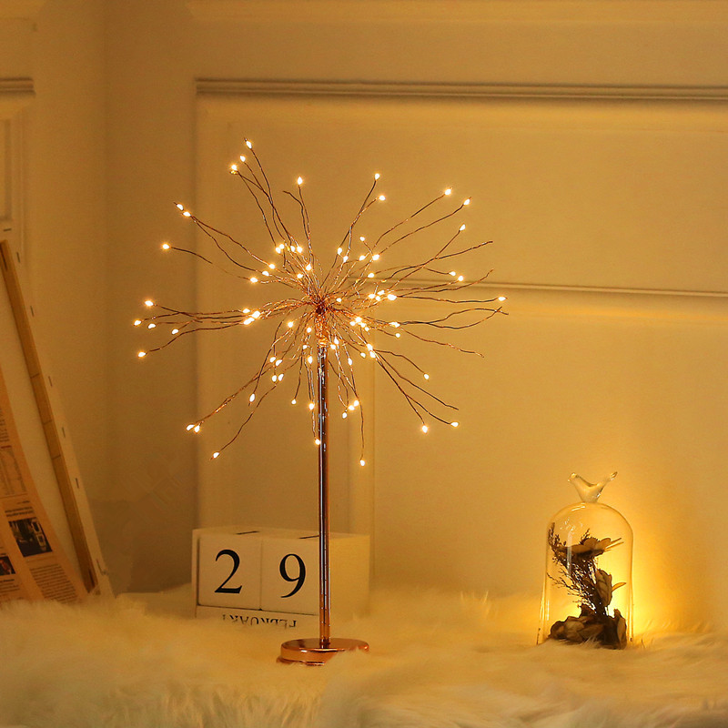 Tree Shape LED Night Light USB/Battery Powered Table Lamp Home Bedroom Decoration Lighting