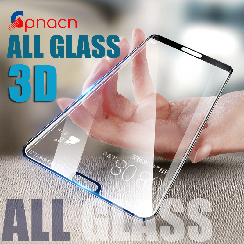 GPNACN 3D Tempered Glass For Huawei P9 P9 Plus P9 Lite 2017 P10 P10 Lite Screen Protector For Huawei P20 Lite P20 Plus P20 Pro