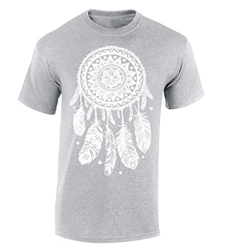Funny T Shirt Designs Men 39 S Broadcloth Crew Neck Dream Catcher White Dreamer Short Sleeve T Shirt in T Shirts from Men 39 s Clothing