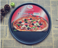 1 UNID 2016 13 pulgadas Thicking herramientas bandeja de pizza Pizza placa de hornear casa para hornear uso en horno de microondas Antiadherente pizza pan Plato J0503