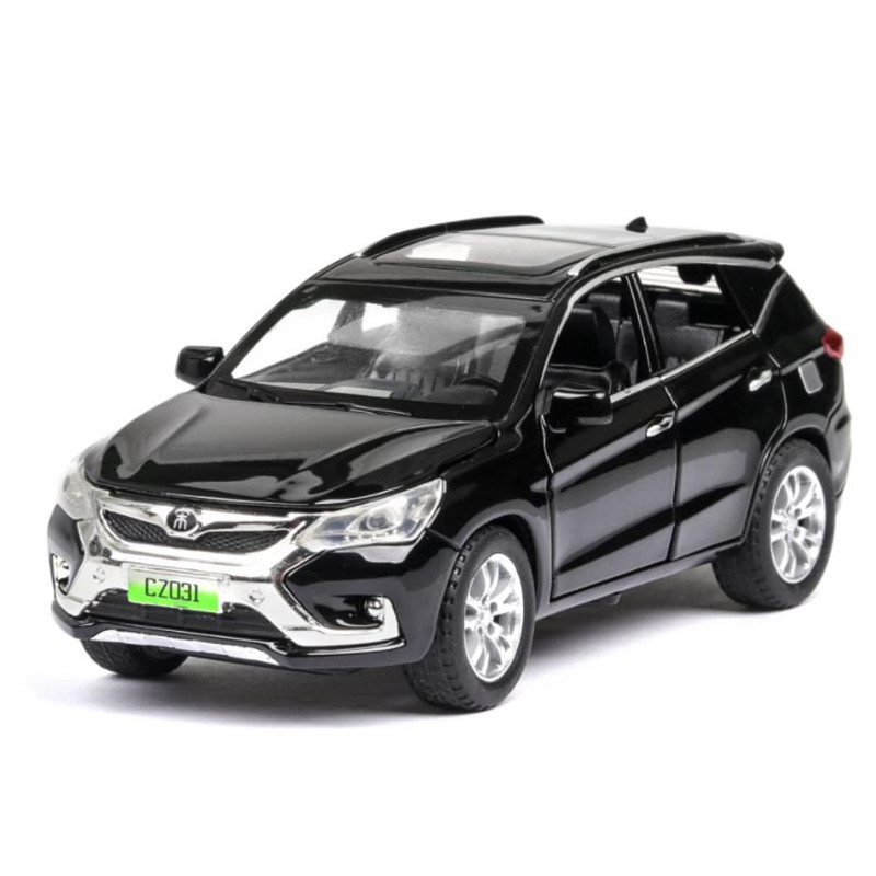 1:32 New Energy Automobile BYD Song Suv Car Model Diecasts & Toy Vehicles Toy Cars Kid Toys For Children Gifts Boy Toy
