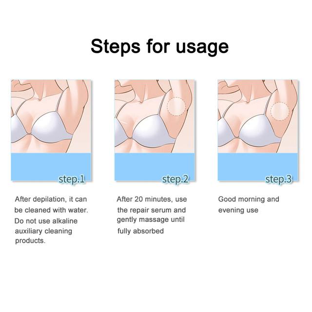 Efficient Natural Everlasting Hair Progress Inhibitor After Hair Elimination Restore Nourish Essence Liquid Hair elimination restore Liquid