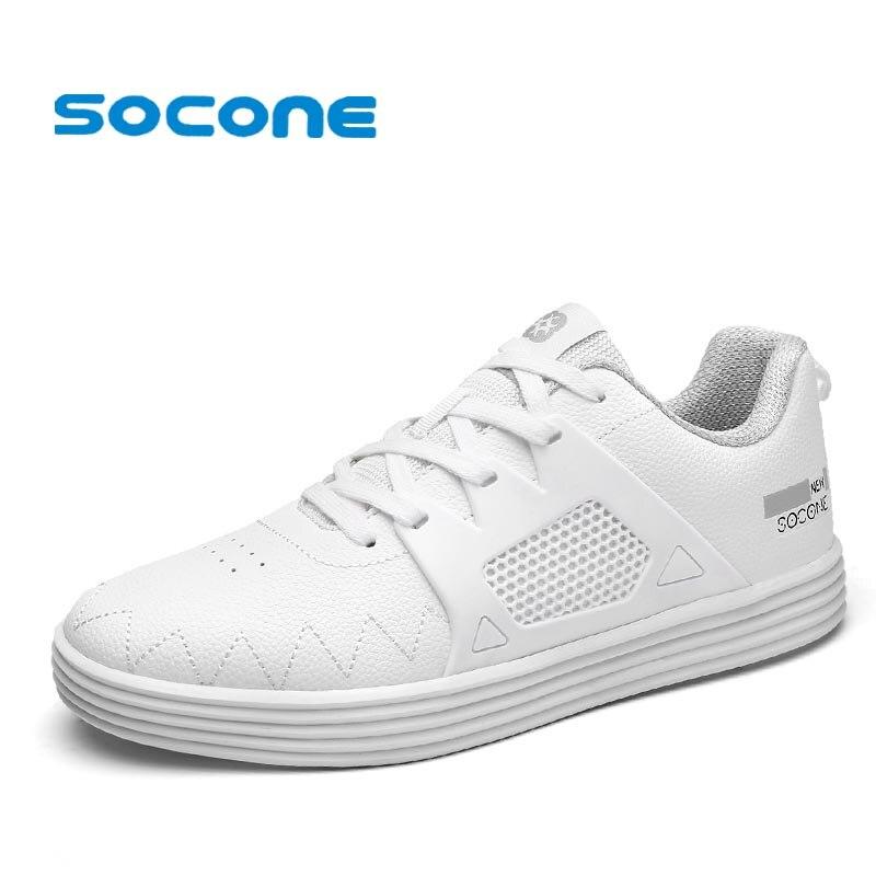 Socone New Arrival Men Skateboarding Shoes Athletic Sport Sneaker Male Lace-up Outdoor Walking Shoe zapatillas deportivas hombre