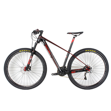 Complete MTB Bicycle Carbon Frame, Full Carbon 29er Mountain Complete Bike 15.5'' 17.5''19""